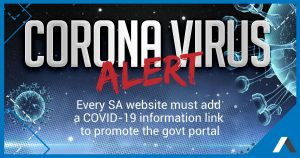 every south african website needs a covid19 message
